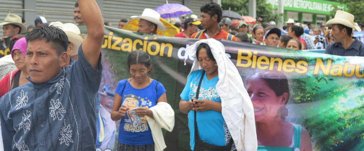 Manifestation de femmes au Honduras