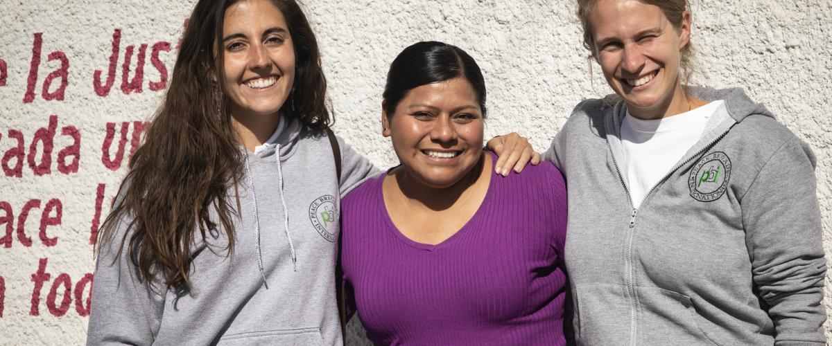 Maricela Vazquez de Paso del Norte et brigadistes PBI