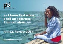 PBI Annual report 2017 cover page